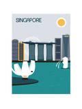 Singapore City. Pôsters por  Ladoga