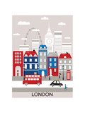 London City. Poster von  Ladoga