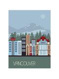 Vancouver Canada. Posters por  Ladoga