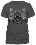 Sons Of Anarchy - Winged Logo T-skjorter