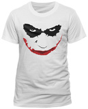 Batman The Dark Knight - Joker Smile Outline T-Shirts