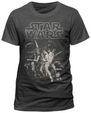 Star Wars - A New Hope One Sheet T-Shirts