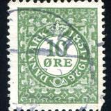 Denmark Stamp Fotografisk trykk av  rook76