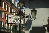 Bourbon Street Sign in New Orleans Lámina fotográfica por Karen Struthers
