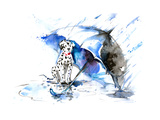 Rain Poster af  okalinichenko