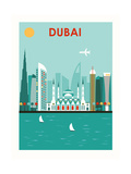 Dubai. Poster von  Ladoga