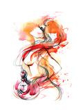 Perfume Premium Giclee Print by  okalinichenko