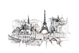 France Giclee Print by  okalinichenko