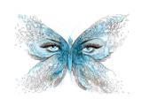 Butterfly Láminas por  okalinichenko
