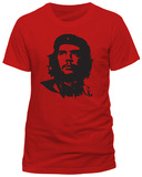 Che Guevara - Red Face T-Shirts