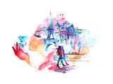 Paris Prints by  okalinichenko