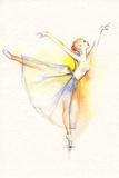 Dancing Ballerina Láminas por Anna Ismagilova