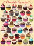 Chocolate Cupcakes 1000 Piece Puzzle Jigsaw Puzzle