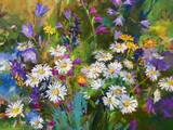 Oil Paints Picture Premium fototryk af  fototaras