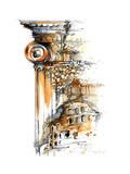 Architecture Affiche par  okalinichenko