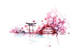 Japan Giclee Print by  okalinichenko
