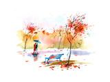 Herbst Poster von  okalinichenko