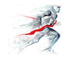 Sports Victory Kunstdruck von  okalinichenko
