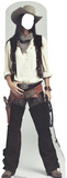 Wild West Cowgirl Stand In Cardboard Cutouts