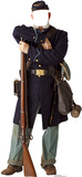 Civil War Union Soldier Stand In Cardboard Cutouts