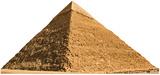 Egypt, Giza, Pyramid of Chephren Standup Cardboard Cutouts