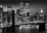 New York-Brooklyn Bridge Pôsters