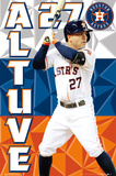 Houston Astros - J Altuve 15 Posters