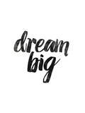 Dream Big Láminas por Brett Wilson