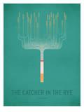 The Cather in the Rye_Minimal Plakater av Christian Jackson