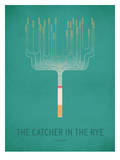 The Cather in the Rye_Minimal Print by Christian Jackson