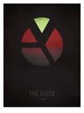The Giver_Minimal Kunstdrucke von Christian Jackson