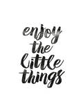 Enjoy the Little Things 2 Pôsters por Brett Wilson