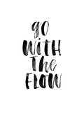 Go With The Flow Stampe di Brett Wilson