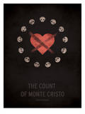 The Count of Monte Cristo Pôsters por Christian Jackson