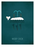 Moby Dick Minimal Posters par Christian Jackson