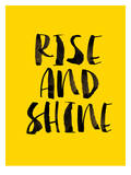 Rise and Shine Pósters por Brett Wilson