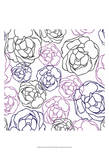 Cottage Rose Garden II Affiche par Ali Benyon