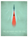 The Old Man and the Sea Affiches par Christian Jackson