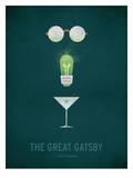 The Great Gatsby Minimal Plakater av Christian Jackson