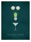 The Great Gatsby Minimal Kunstdrucke von Christian Jackson
