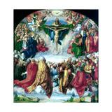 The Adoration of the Trinity (The Landauer Altarpiece), 1511 Reproduction procédé giclée par Albrecht Durer