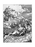 A Sea Monster Bearing Away a Princess, 1500 Reproduction procédé giclée par Albrecht Durer
