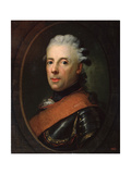 Portrait of Prince Henry of Prussia, 18th Century Giclée-tryk af Anton Graff