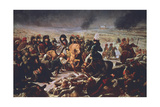 Napoleon on the Field of the Battle of Eylau, 9th February 1807 Giclee Print by Antoine-Jean Gros