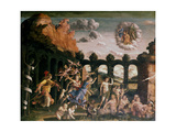 Minerva Chasing the Vices from the Garden of Virtue, C1502 Giclee Print by Andrea Mantegna