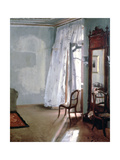 Room with Balcony, 1845 Giclée-Druck von Adolph Menzel