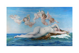 Birth of Venus, 1863 Giclee Print by Alexandre Cabanel