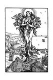 Ascension of Maria Magdalena, 1507-1510 Giclee Print by Albrecht Durer