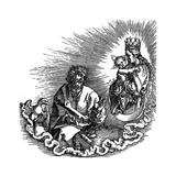 Die Offenbarung Johannis, 1511 Reproduction procédé giclée par Albrecht Durer