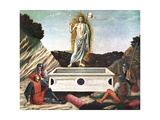 The Resurrection, Mid 15th Century Giclée-tryk af Andrea Del Castagno